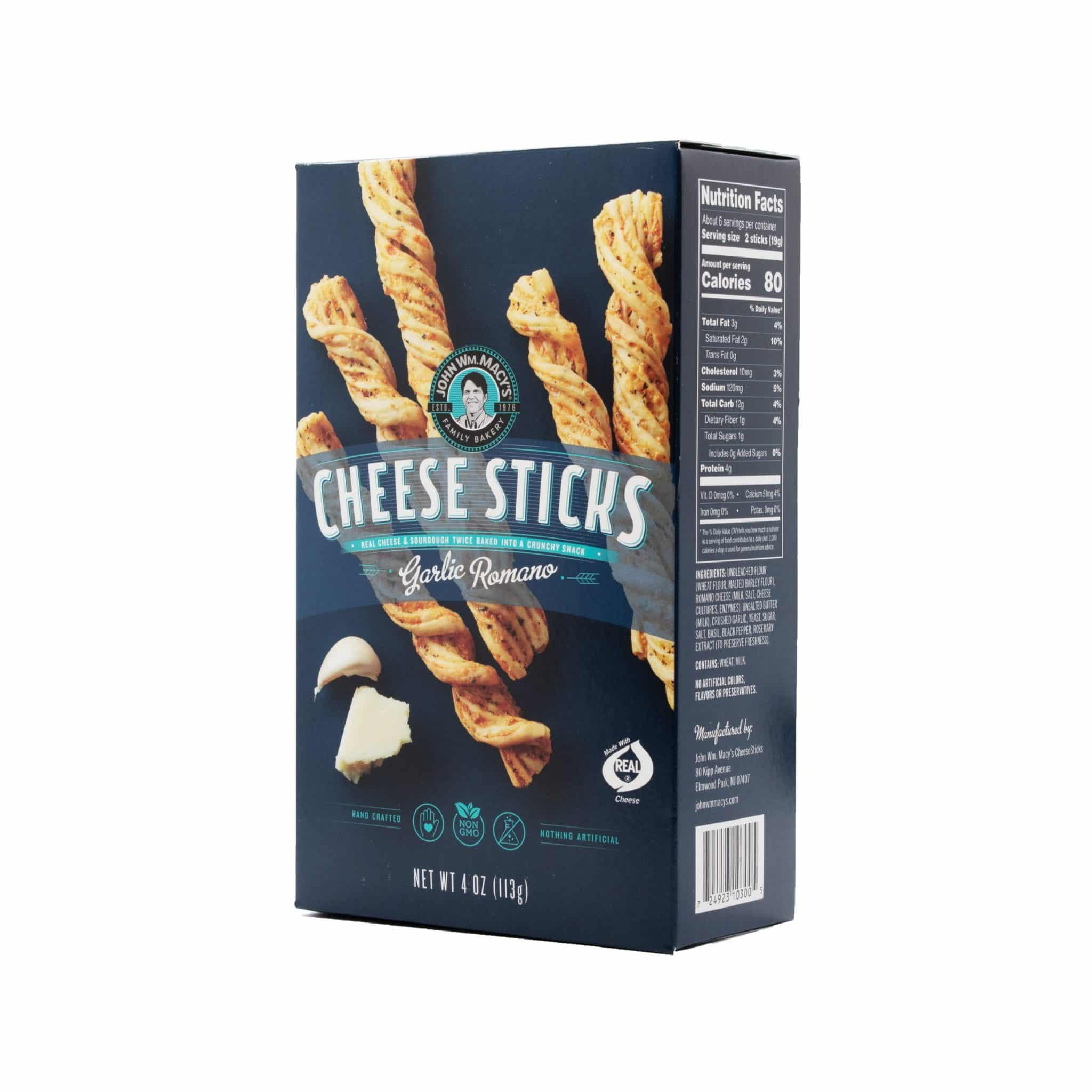 John Wm. Macy's Cheese Sticks